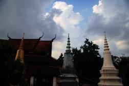 CAMBODGE Stupas Siem Reap 2009