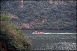 CHINE Bateau lac Huanghua septembre 2007