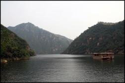 CHINE Grande muraille et lac Huanghua 2007