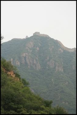 CHINE La Grande muraille Huanghua septembre 2007