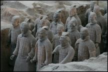 CHINE Xian armee de terre cuite II septembre 2007