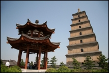 CHINE Xian grande pagode septembre 2007