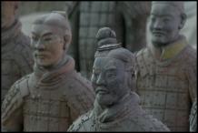 CHINE Xian Soldats armee de terre cuite septembre 2007