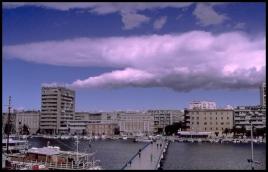 CROATIE Nuage inquietant Zadar