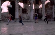 enfants courant Dubrovnik