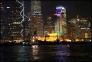 HONGKONG by night septembre 2007