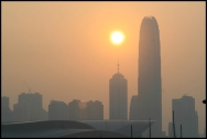 HONGKONG Coucher de soleil septembre 2007
