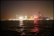 HONGKONG Kowloon by night septembre 2007