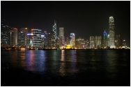 HONGKONG Skyline by night septembre 2007