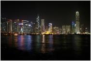 HONGKONG Skyline by night septembre 2007