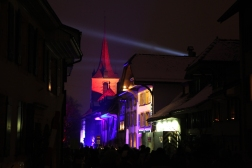 SUISSE Festival des lumieres Morat janvier 2017