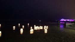 SUISSE Lanternes sur l eau Morat janvier 2017