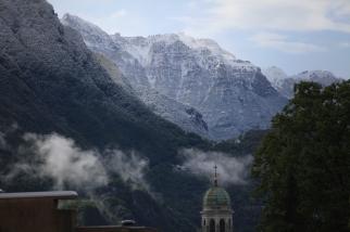 SUISSE Monte Generoso sous la neige depuis Lugano 2017