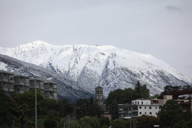SUISSE Monte Tamaro sous la neige 2017