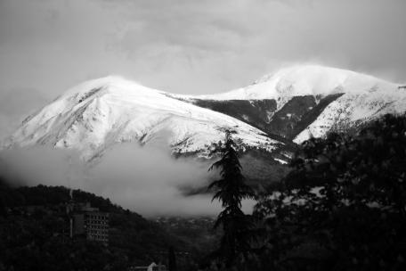 SUISSE Monte Tamaro sous la neige nb avril 2017