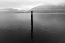 SUISSE Ponton lac Majeur nb 2017